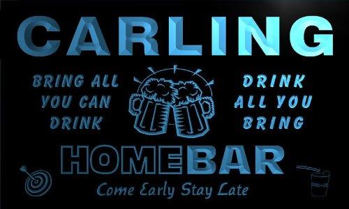 q07034-b-carling-family-name-home-bar-beer-mug-cheers-neon-light-sign