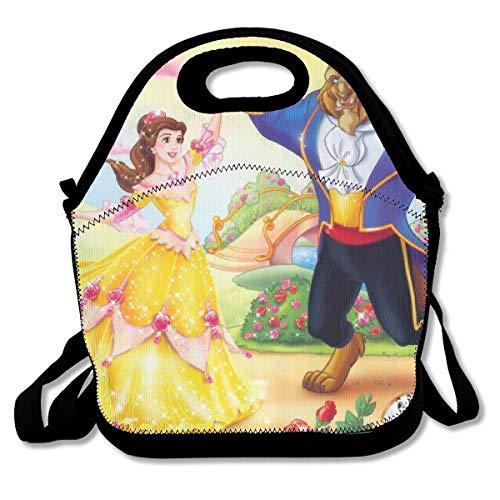 Disney Prinzessin Große Wiederverwendbare Tasche - Greatbe Disney Prinzessinnen Belle Mit Fan
