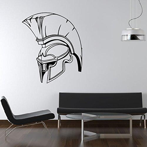elm Wandaufkleber Römischer Soldat Wandtattoo Schulhaus Dekor verfügbar in 5 Größen und 25 Farben X-Groß Weiß (Römisch-dekor)