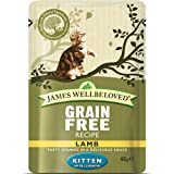 James Wellbeloved Kitten Lamb Pouches 12 x 85g