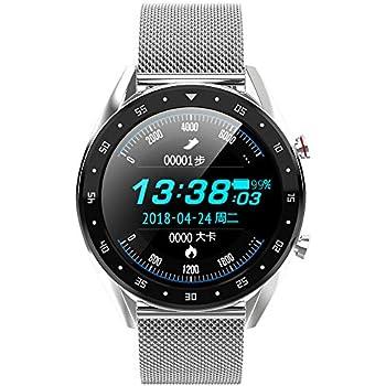 Festnight Microwear L7 Smart Watch Reloj Deportivo Rastreador de Actividad Monitor de Actividad sueño Mensaje Mensaje Recordatorio Llamada Reloj para ...