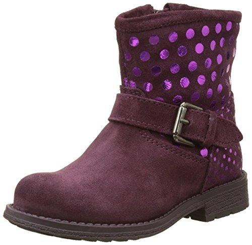 Agatha Ruiz De La Prada Mädchen 171975B Stiefel, Purple (Purple Vino), 28 EU (Prada Stiefel)