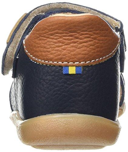 Kavat Rullsand Ep, Sandales premiers pas mixte bébé Bleu - Blau (89)