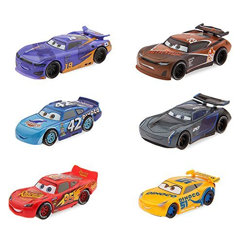 Set de figuras de Disney Cars 3