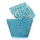 ROSENICE Cupcake Wrappers 50 Stück Muffinförmchen Hochzeit Muffins Backförmchen für