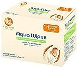 Aqua Wipes Toallitas higiénicas para bebé, (12 x 12 paños de viaje...