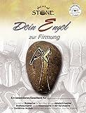 The Art of Stone Engel zur Firmung - Unikat Natur Stein - Eigener Wunschtext möglich - Handbemalt in Deutschland