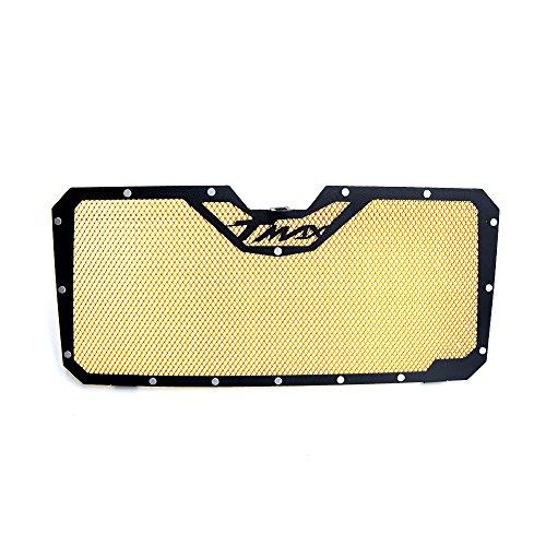 Tmax 530 raffreddamento custodia griglia radiatore acqua raffreddamento radiator guard per yamaha tmax 530 2012 2013 2014 2015 2016(oro)