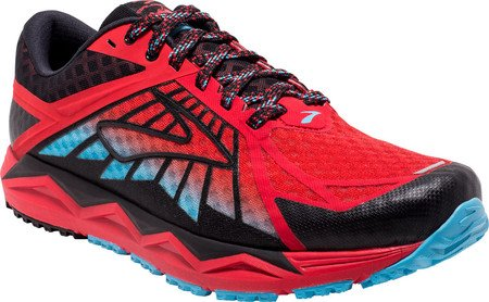 Chaussures Brooks Caldera Homme Rouge Rouge