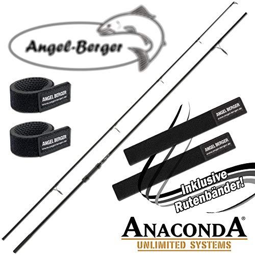 Angel-Berger Sänger Anaconda Magist 3.60M 3.00lbs Karpfenrute 50mm Startring Rutenband