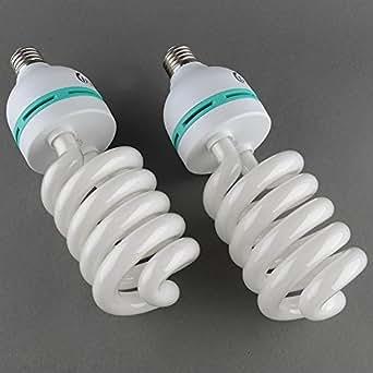 MVPower®Kit 4 X 135W Studio Photo Ampoule Lumiere du Jour 5500K Fluorescent Eclairage FR
