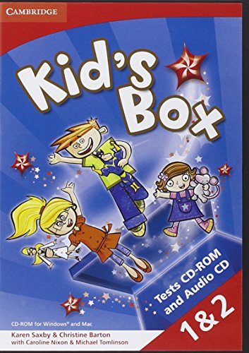 Kid's Box Levels 1-2 Tests CD-ROM and Audio CD - 9781107658912