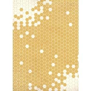 grande feuille de papier 19 5 po x 27 po 495x690mm nid d 39 abeille cuisine maison. Black Bedroom Furniture Sets. Home Design Ideas