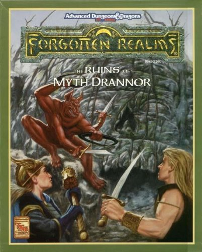 Ruins of Myth Drannor: Boxed Set (ADVANCED DUNGEONS & DRAGONS, 2ND EDITION) por E. Greenwood