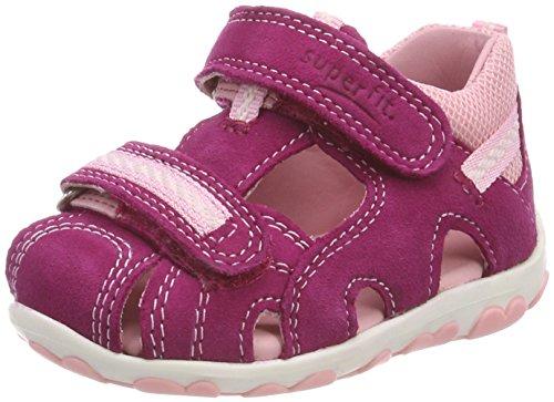 Superfit Baby Mädchen Fanni Sandalen, Pink (Berry Kombi), 26 EU