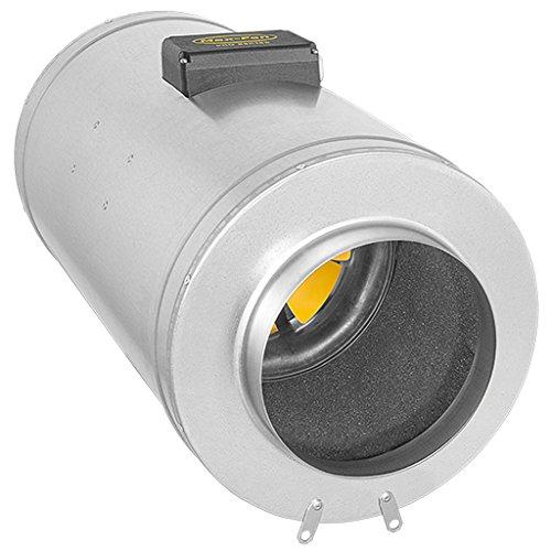 CAN Fans Ventilateur de Max 200 EC Q, 1203 M³/HR, Argent, 70 x 33 x 36 CM, 08-356-535