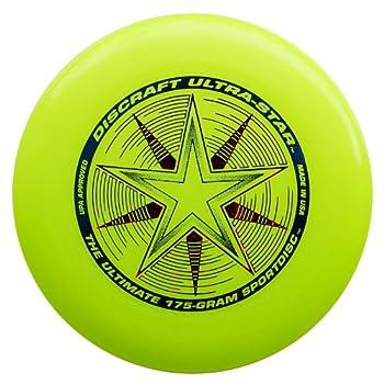 Discraft 802001-106 Ussy 175 G Ultrastar Frisbee (Yellow) 1