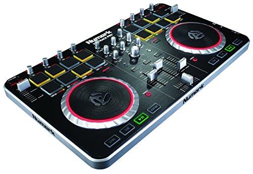 Numark Mixtrack Pro II   2 Deck DJ Controller mit Audio I/O + Serato DJ Intro & Prime Loops Sample Library