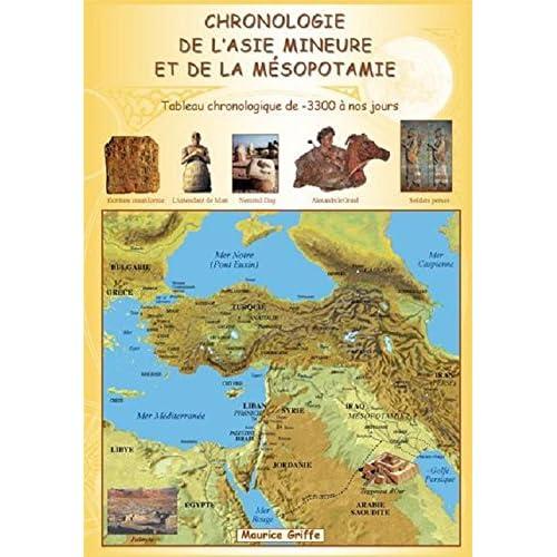 L'Asie mineure et la Mésopotamie