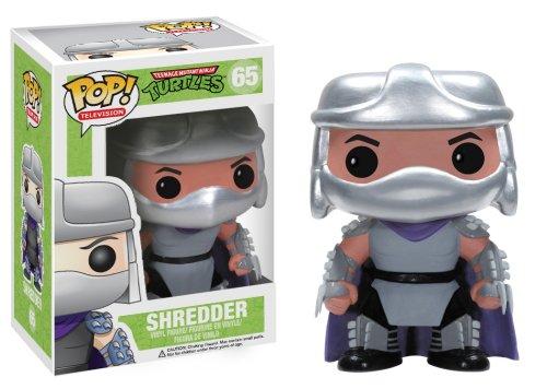 Funko - Figurine Tortues Ninja - Shredder Pop 10cm - (Pop Ninja Turtles)