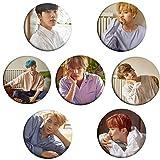 #8: Fancyku BTS Bangtan Boys [Love Yourself 承 'HER' ] Buttons Badges/Pin 2.3 Inch (58mm)