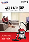 Eureka Forbes Wet and Dry Pro 20-Litre Vacuum Cleaner (Red)
