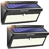 Luci Solari da Esterno 100 LED,Luposwiten Lampade Solari a Led da Esterno Pannello con Sensore di...