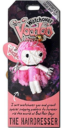 Watchover Voodoo-Puppe / Schlüsselring ~ Die Friseuse