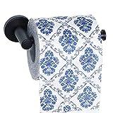 Sayayayo EG3910-B - Portarrollos de papel higiénico (montaje en pared, acero inoxidable), color negro mate