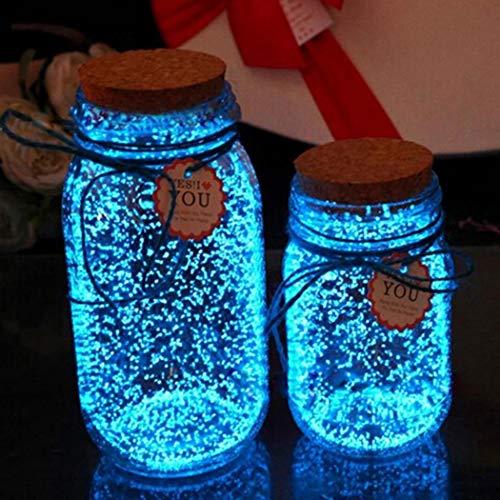nklen leuchtenden schönen Leuchtstoff Sand, der Flaschen-Dekoration wünscht Ausstattungen ()
