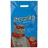 #5: Supercat Wooden Cat Litter (100% Organic) 3Kgs
