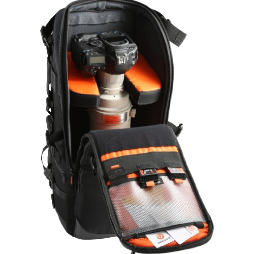 Cheap Vanguard Quovio 66 Professional DSLR Backpack for LARGE Telephoto Lens – Black Reviews