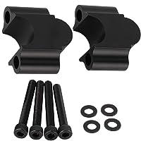for BMW G310GS G310R G310 G 310 GS R 2017 2018 Manubrio End Color : Black Black 7//8 22 Millimetri Manubrio del Motociclo Handle Bar Tappo Spine Slider
