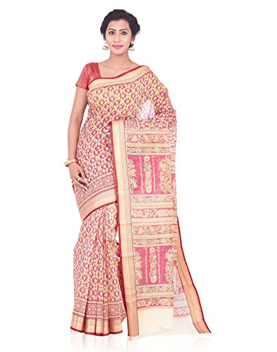 Roopkala Silks & Sarees Cotton Saree (Ma-1060_Maroon)