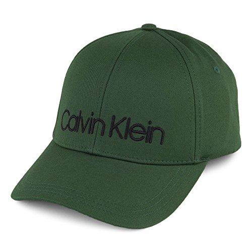 Calvin Klein Herren Baseball Logo Embroidery Cap M, Grün (Grass Green 312), One Size