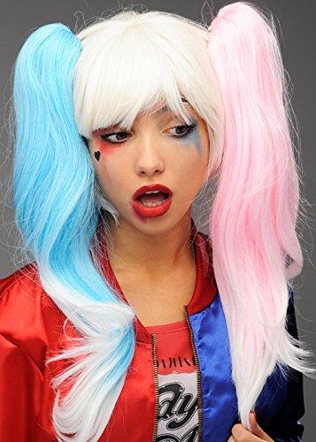 Suicidio harley quinn stile parrucca deviante