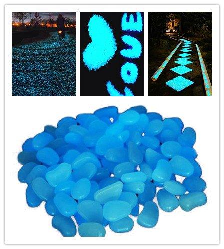 leuchtsteine-stillcool-100-stueck-kunstliche-kieselstein-leuchtende-kiesel-aquarium-floureszierende-