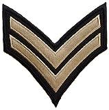 ecusson insigne us army sergent brodé armée us usa 8,5x8,5cm marines