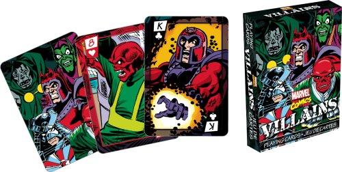 marvel- Villains Spielkarten (Anzug Unglaubliche Hulk)