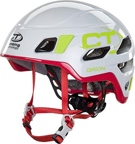 Climbing technology casco per arrampicata/alpinismo orion bianco rosso taglia 2 (da 57 a 62 cm)