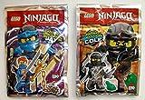 Lego Ninjago Movie 2017 - Set limitierte Figuren Jay + Cole