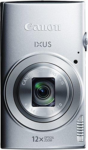 Canon IXUS 170 Digitalkamera (20 Megapixel, 12-fach optisch, Zoom, 24-fach ZoomPlus, opt. Bildstabilisator, 6,8 cm (2,7 Zoll) LCD-Display, HD-Movie 720p) Silber - 2
