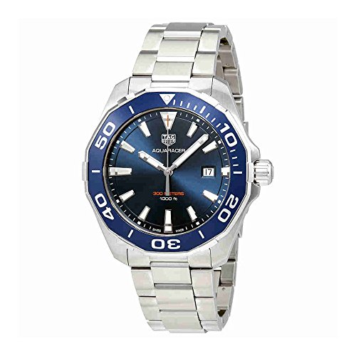 Tag Heuer Aquaracer Quartz 43mm Mens Watch Ref WAY101B.BA0746