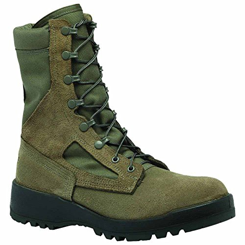 Belleville 600ST USAF Sage Green Hot Weather Steel Toe 8 Combat Boot Sage Green