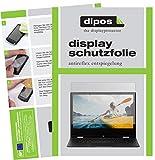 dipos I 2X Schutzfolie matt passend für Medion Akoya E2294 Folie Bildschirmschutzfolie