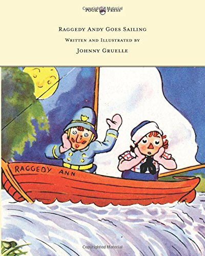 Raggedy Teddy Bear (Raggedy Andy Goes Sailing - Written and Illustrated by Johnny Gruelle)