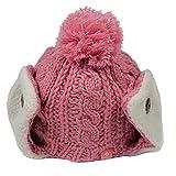 Kenmont Frauen-Mädchen-Mütze mit Ohrenklappe One Size