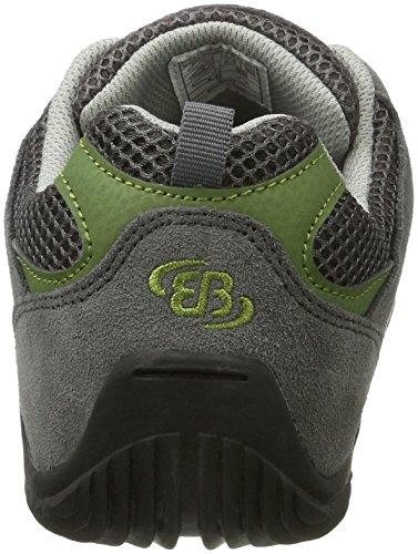 Bruetting Unisex-Erwachsene Release Sneaker Grau (Grau/Gruen)