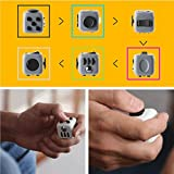 Younger Fidget Cube Toy Relieves Stress And Anxiety for Children and Adults Grey