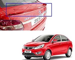 Auto Pearl - Premium Quality OE Type Car Spoiler For - Tata Zest (Lip) (venetian-red)